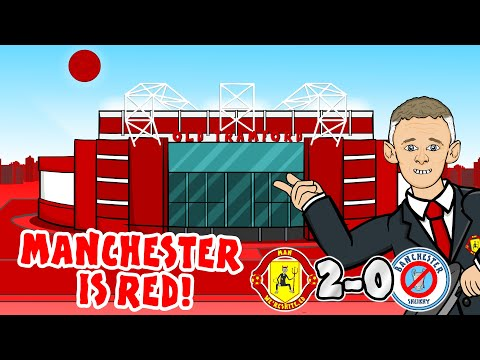 🔴2-0! Manchester is RED!🔴 Man Utd vs Man City 2020 (Parody Goals Highlights Song Martial McTominay)