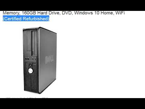Dell OptiPlex, Intel Core 2 Duo 2.9GHz E7500 Processor