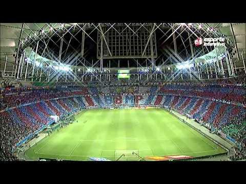 Super Mosaico do Bahia Lampions Ligue 2015 - Movimento Avante Esquadrão - Bahia