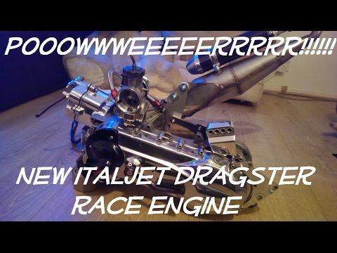 Sneak Peak Of The New Italjet Dragster Race Engine