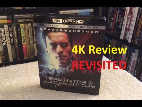 Terminator 2 4K REVIEW REVISITED + Unboxing - T2 4K Blu Ray Ultra HD - UHD