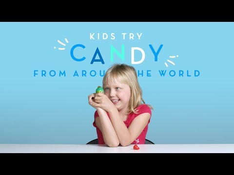 Kids Try Candy from Around the World