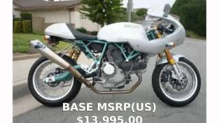 8. 2005 Ducati SportClassic Paul Smart 1000LE -  Top Speed Engine