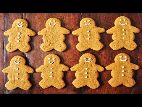 gingerbread - Recipe here: http://www.joyofbaking.com/GingerbreadMen.html Stephanie Jaworski of Joyofbaking.com demonstrates how to make Gingerbread Men. Christmas baking ...