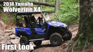 8. 2018 Yamaha Wolverine X4 First Look