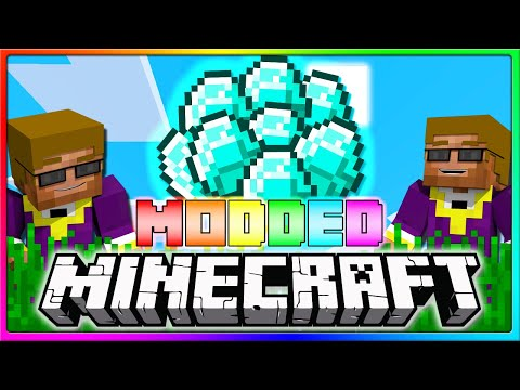 Modded Crewcraft - I'M THE RICHEST ON THE SERVER | Episode 2 Season 2 (Modded Minecraft)