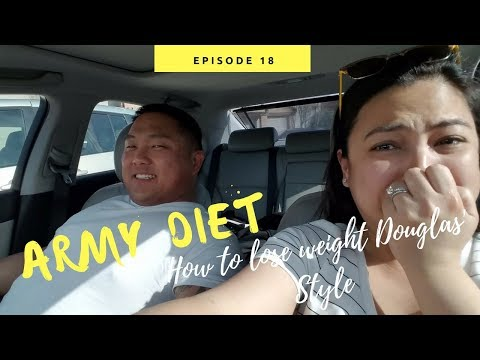 ARMY DIET/ HOW TO LOSE WEIGHT? [Doug&Marie's Life S4E18] Army Wife Vlog