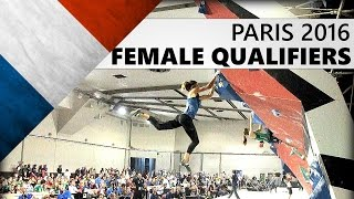 Bouldering World Championships 2016 | Female Qualifiers by OnBouldering