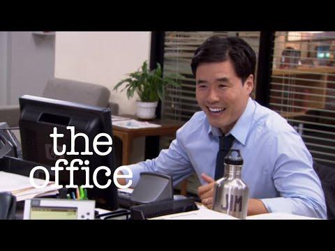 Asian Jim - one of the best pranks on the US Office