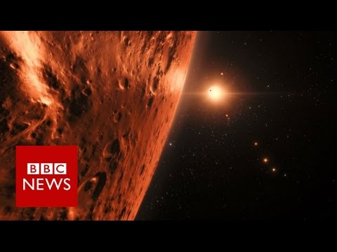 Astronomers discover 7 Earth-sized planets - BBC News