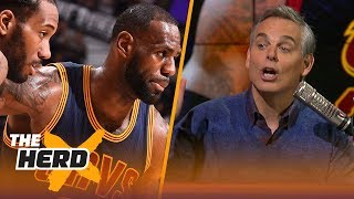Colin Cowherd's 3 factors to the Spurs trading Kawhi Leonard to Magic's Lakers | NBA | THE HERD by Colin Cowherd