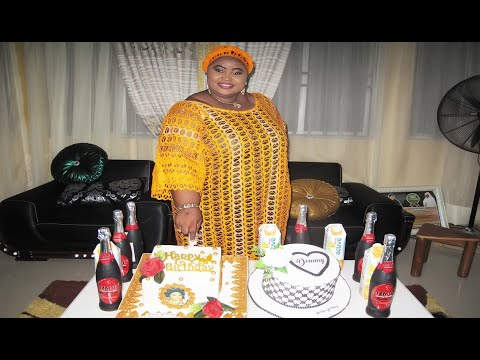 Aminat Ajao Obirere Celebrates birthday at her country home Ilorin with her family