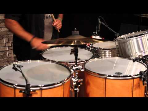 A Lesson in Samba Reggae with Marcus Santos