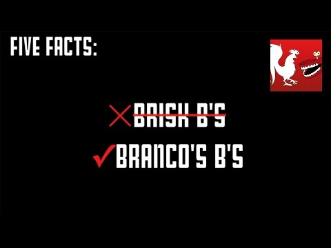 Facts - Jack and Geoff do another five facts variety pack and cover Bully, Battlefield 3, Borderlands, Bioshcok, and Bioshock 2. RT Store: http://roosterteeth.com/store/ Rooster Teeth: http://roosterteet...