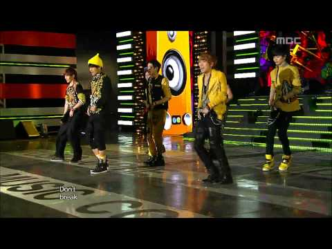 BTOB - WOW, 비투비 - 와우, Music Core 20120929 (видео)