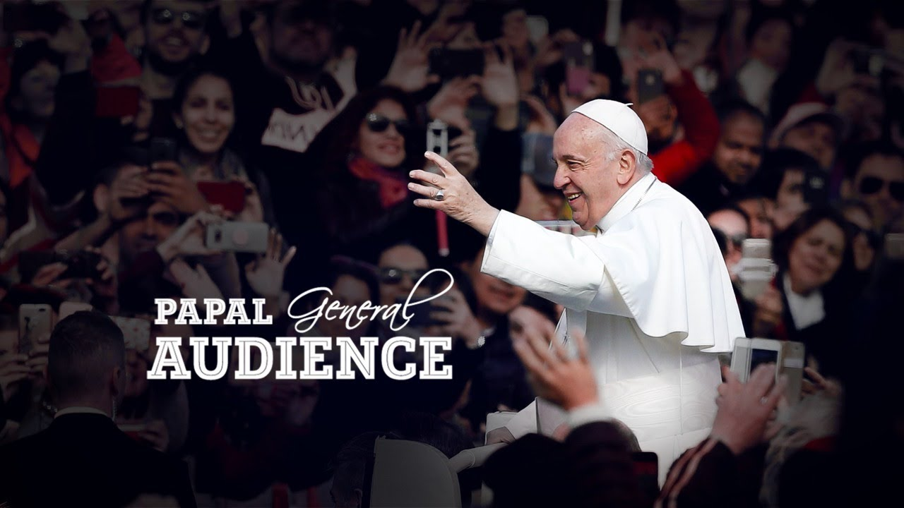 General Audience by Pope Francis 20th May 2020 At Vatican
