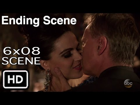 """Once Upon a Time 6X08 """"Ending Scene"""" Rumple Kisses Evil Queen Season 6 Episode 8"""