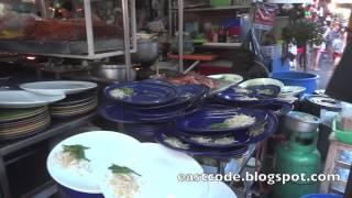 Big Shrimp Pad Thai Shop Weekend Market Bangkok