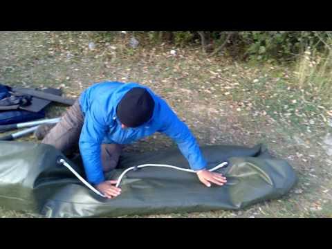 как правильно сложить гребную лодку пвх