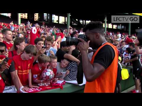Video: Sturridge: LFC's new photographer?