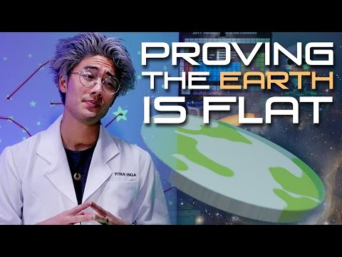 Proving The Earth Is Flat!