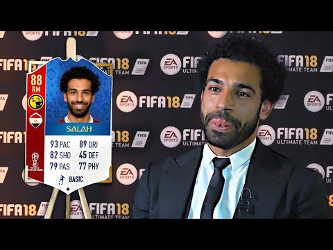 10 Footballers ANGRY At Their *NEW* FIFA Ratings! (ft Salah & Ronaldo)