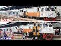 Proses Pergantian Lokomotif Dinas KA Argo Muria Tambahan