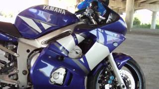 10. 2001 Yamaha R6