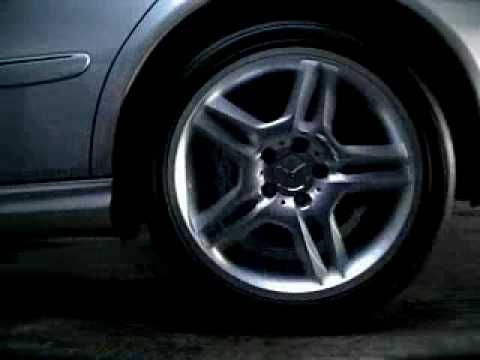 Mercedes Benz E55 AMG Commercial