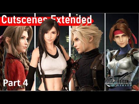 Final Fantasy 7 Remake ALL CUTSCENES FULL MOVIE (4/7)