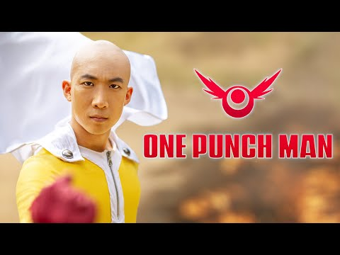 ONE PUNCH MAN LIVE ACTION - Saitama vs Genos | RE:Anime