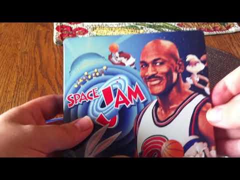 Space Jam Blu ray Steelbook Unboxing