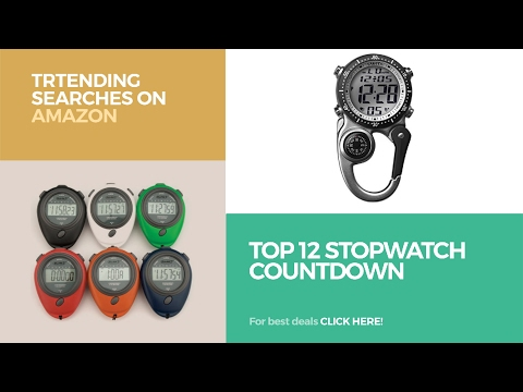 Top 12 StopWatch CountDown // Trtending Searches On Amazon