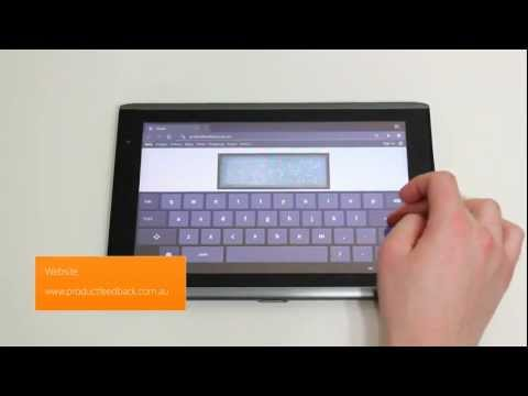 Acer Iconia Tab 32GB A500 Unboxing | HSDPA 3G