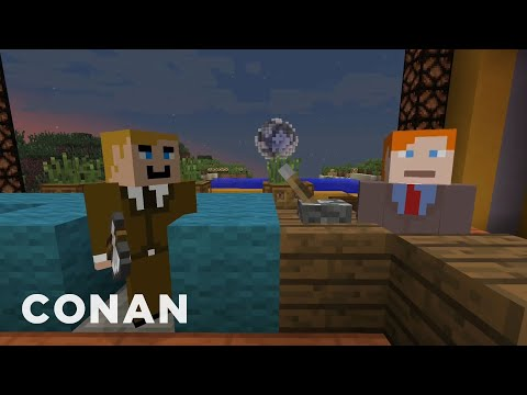 "The CONAN ""Minecraft"" Episode That Will Never Be  – CONAN on TBS"