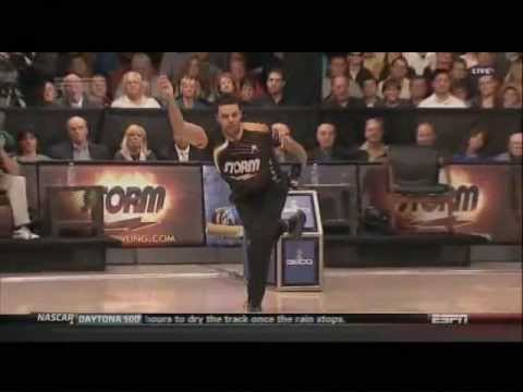 US Open Semi final match vs Pete Weber