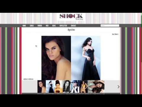 Página Web para una Agencia de Modelos