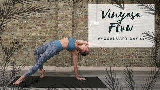 Video DAY 11: Vinyasa Flow | Yoganuary Yoga Challenge | CAT MEFFAN MP3, 3GP, MP4, WEBM, AVI, FLV Maret 2018