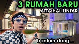 Download Video 3 RUMAH BARU ATTA HALILINTAR 😱 Bantuin pilihin dong... #BukanDuitOrangTua MP3 3GP MP4