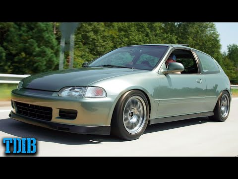 SUPERCHARGED K20 Honda EG Hatch Review! Better Than a Turbo Civic?