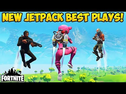 *NEW* JETPACK BEST PLAYS! - Fortnite Funny Fails and WTF Moments! #203 (Daily Moments) (видео)