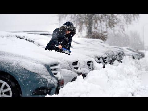 Wintereinbruch in der Eifel bringt Schnee und Kälte