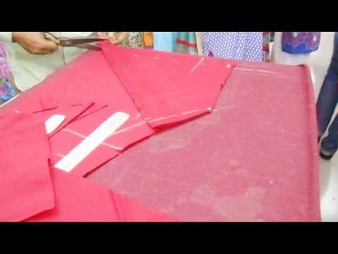 churidar - How To Cut Churidaar Salwar-Simple Cutting Method Of Churidar Salwar Kameez.