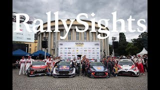 Toyota Yaris WRC ROAD to VICTORY TOYOTA GAZOO Racing WRT RallySights Presents Rallying and Legendary Drivers.