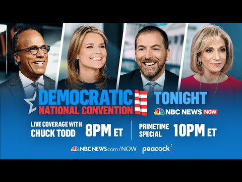 Live: Democratic National Convention Day 1 | Featuring Michelle Obama & Bernie Sanders | NBC News