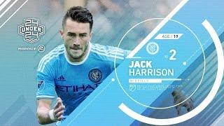 Jack Harrison | #2 24 under 24 by Major League Soccer
