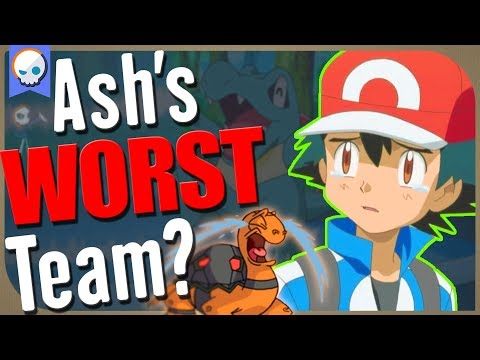 What Would Ash's WORST Pokemon Team be? | Gnoggin