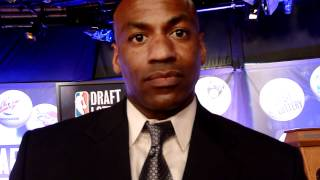 New Orleans Hornets GM Dell Demps Post-NBA Draft Lottery Reaction