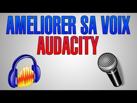comment modifier voix audacity