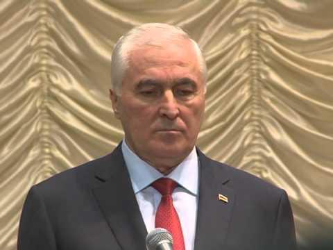 Торжественное собрание, посвященное Дню признания государственной независимости Республики Южная Осетия